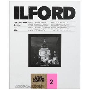 Ilfobrom Galerie FB Grade 2 Enlarging Paper, 8x10in-100: Picture 1 regular