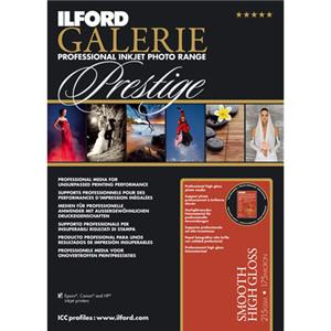Ilford GALERIE Prestige Smooth High Gloss Inkjet Paper 2001759