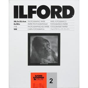 Ilford Ilfospeed RC Grade 2 B/W Paper, Pearl 8x10in-100: Picture 1 regular