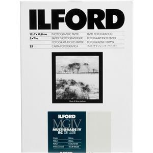 Ilford IV RC Deluxe Resin B/W Paper 5x7in, 25, Pearl: Picture 1 regular