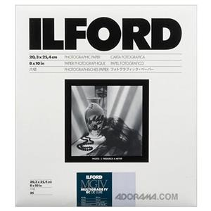 Ilford Multigrade IV RC Deluxe Resin Coated VC Variable Contrast Black & White Enlarging Paper 1168310
