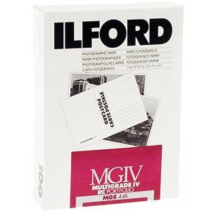Ilford IV Resin B/W Enlarging Paper 5x7in, 100, Glossy: Picture 1 regular