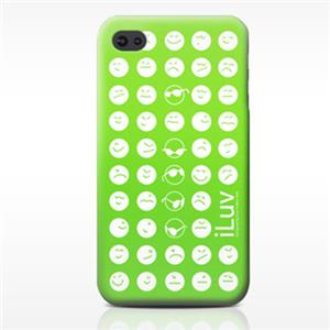 iLuv Soft-coated Emoticon Ultra Thin Case ICC731GRN