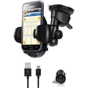 iLuv Windshield Mount Kit and Micro USB Cable ICC796BLK
