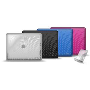 iLuv ICC802CLR TPU Case with Pattern for iPad, Clear: Picture 1 regular