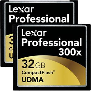 Lexar 32GB Professional 300x UDMA Compact Flash...: Picture 1 regular