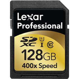 Lexar 128GB Class 10, Professional 400x SDXC UHS-I Memory Card: Picture 1 regular