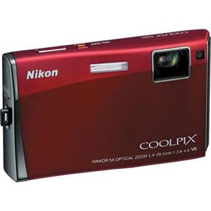 Nikon Coolpix S60 Digital Camera, Crimson Red, Ref: Picture 1 regular