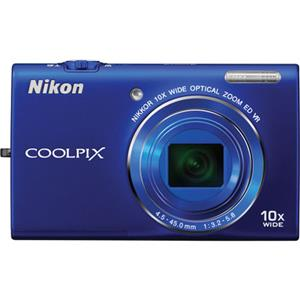 Nikon Coolpix S6200 Digital Camera 26276