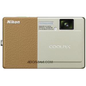 Nikon Coolpix S70 Digital Camera, Champagne/Brw, R: Picture 1 regular