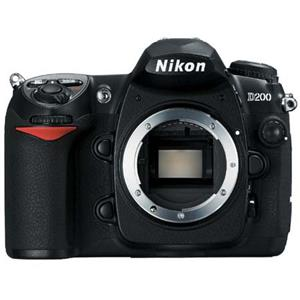 Nikon D200 10.2 Megapixels Digital SLR Camera Body: Picture 1 regular