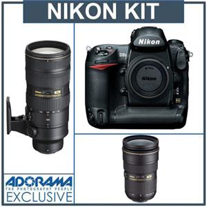 Nikon D3S Digital SLR Camera with Nikon 24-70mm...: Picture 1 regular