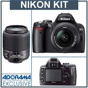 Nikon D40 6.1 Megapixel Digital SLR Camera Two ...: Picture 1 regular