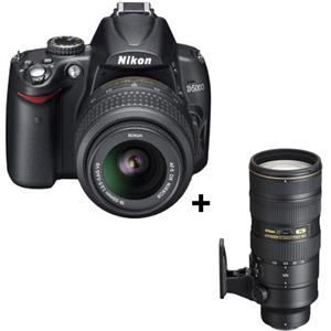 Nikon D5000 Digital SLR Camera with 18-55mm f/3...: Picture 1 regular