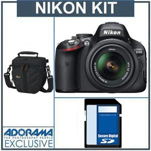 Nikon D5100 DX-Format Digital SLR Camera Kit 25478 C