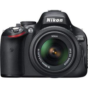 Nikon D5100 DX-Format Digital SLR Camera Kit 25478 B