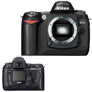 Nikon D70s Digital SLR Camera, 6.1 Megapixel, I...: Picture 1 regular