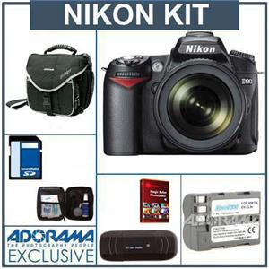 Nikon D90 DSLR Camera/ Lens Kit 25448 KB