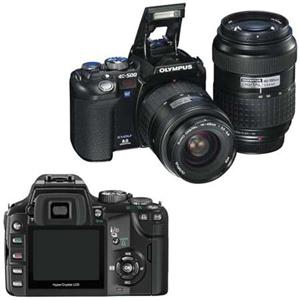 Olympus EVOLT-500 Digital SLR Camera, 8 Megapix...: Picture 1 regular