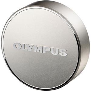 Olympus LC-61, Silver Metal Front Lens Cap for 75mm f/1.8 Micro 4/3 Lens: Picture 1 regular