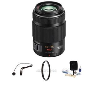 Panasonic 45-175mm F/4.0-5.6 Lumix GX Vario Power OIS Zoom Lens H-PS45175K  K