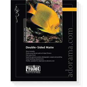 Projet Standard Weight Double Sided Matte Surface Inkjet Paper JANUS081020