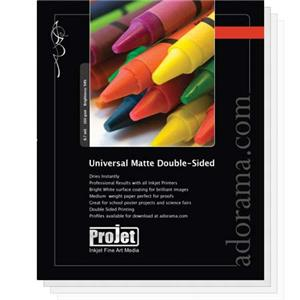 Projet Universal Double-Side Matte Inkjet Paper 11x14in: Picture 1 regular