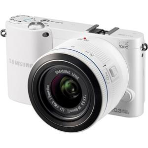 "Samsung Smart ""Wirelss"" NX1000 Mirrorless 20.3MP Digital Camera EV-NX1000BFWUS"