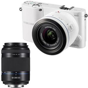 "Samsung Smart ""Wireless"" NX1000 20.3 MP Camera EV-NX1000BFWUS A"