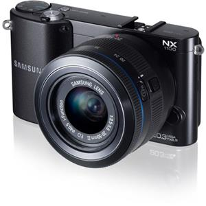 Samsung Smart WiFi NX1100 20.3MP Mirrorless Digital Camera