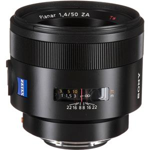 Sony Carl Zeiss Planar T* 50mm F1.4 ZA Lens for Digital SLT and NEX Cameras: Picture 1 regular