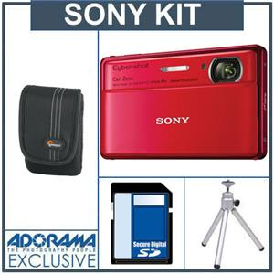 Sony Cyber-Shot DSC-TX100V Digital Camera Kit ISODCTX100RA