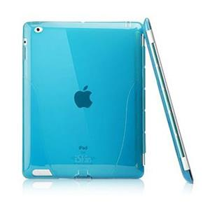 iSkin Solo Smart Case for iPad2 and 3, Blue: Picture 1 regular