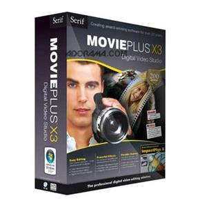 Serif MoviePlus X3 Student/Teacher Edition MVPX3USMBRTST