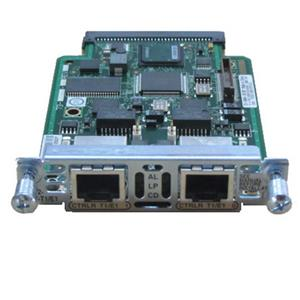 Port Ethernet Card on Cisco 2 Port T1 E1 Multiflex Trunk Voice Wan Interface Card  Picture 1