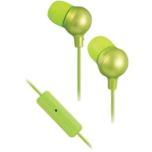 JVC HAFR36G Marshmallow In-Ear Headphones with Microphone and Remote, Green: Picture 1 regular