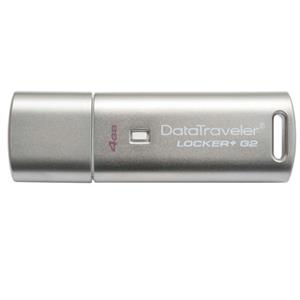 Kingston Technology DTLPG2/4GB, 4GB DataTraveler Locker+ G2 USB Flash Drive: Picture 1 regular