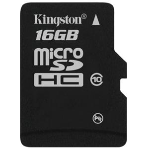Kingston Technology 16GB Micro SDHC (Class 10) High Capacity Micro Secure Digital Card SDC10/16GB