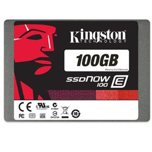 Kingston Technology SSDNow E100 100GB Enterprise-Class E100 Internal SSD: Picture 1 regular