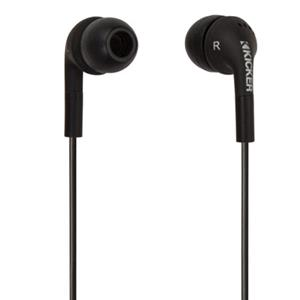 Kicker Flow Noise Isolation In-Ear Monitors, Black: Picture 1 regular