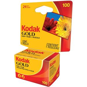 Kodak Kodacolor Gold 100GA Negative Film 35mm 24 E: Picture 1 regular