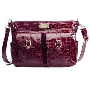 Kelly Moore Classic Camera Bag - Cranberry Croc: Picture 1 regular