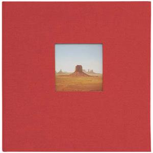 Kolo 1004503 Catalina 6 Ring Album 8x9in Red Covers: Picture 1 regular