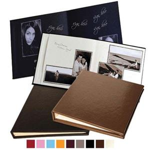 Leather Album Designs Signature Series Library Bound Album ISC88 16