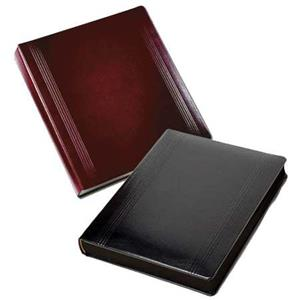 Leather Album Designs Prestige Flush Series Library Bound Album UN2609 3 10X10-15