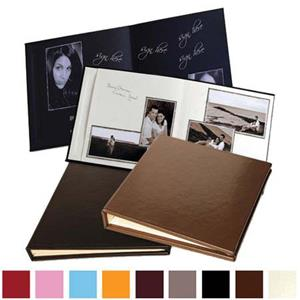 Leather Album Designs Signature Series Library Bound Album XSN14 09