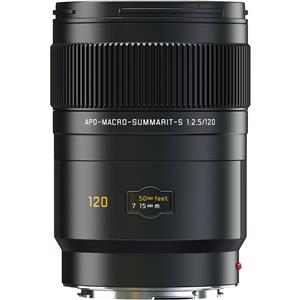 Leica Summarit-S 120mm f/2.5 Aspherical Apo Macro Lens 11070