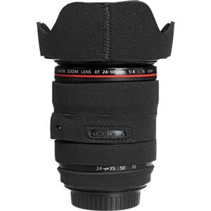 LensCoat LC24105BK Canon 24-105mm Lens Cover, Black: Picture 1 regular