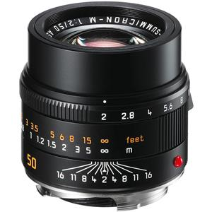 Leica 50mm f/2 APO-SUMMICRON-M Asphercial Black Lens: Picture 1 regular