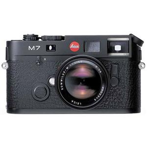 Leica M7 0.72 35mm Rangefinder Black Camera Body 10546